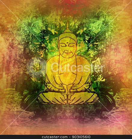 Chinese Traditional Artistic Buddhism Pattern  stock photo, Chinese Traditional Artistic Buddhism Pattern  by Jacky Brown