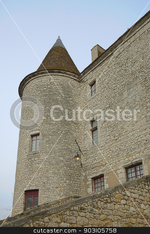 Castle of Nemours, Seine-et-marne, Ile-de-France, France stock photo, Castle of Nemours, Seine-et-marne, Ile-de-France, France by B.F.