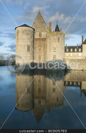 Castle of Sully-Sur-Loire, Loiret, France stock photo, Castle of Sully-Sur-Loire, Loiret, France by B.F.