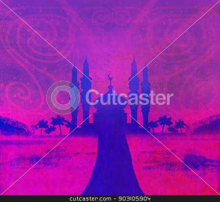 ramadan kareem card  stock photo, ramadan kareem card  by Jacky Brown