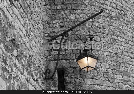 Castle of Nemours, Seine-et-marne, Ile-de-France, France stock photo, Castle of Nemours, Seine-et-marne, Ile-de-France, France by B.F.