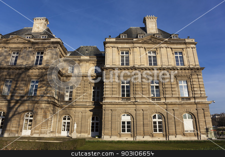 Palais du Luxembourg, Paris, France stock photo, Palais du Luxembourg, Paris, France by B.F.
