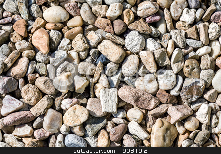 pebbles texture stock photo, pebbles texture for background or backdrop use by Artush