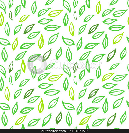Leafs pattern stock vector clipart, Vector illustration of Leafs pattern by SonneOn