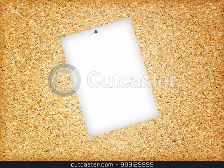 Cork board stock photo, Cork board background brown texture cork  close up by janniwet