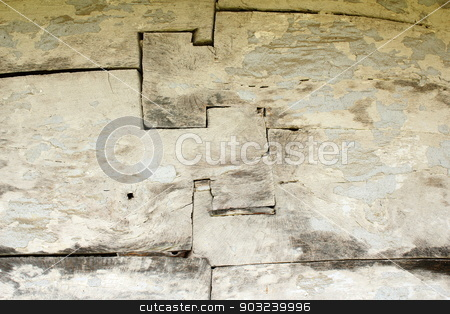 traditional beams jonction on ancient wood wal stock photo, traditional beams jonction on ancient wood wall, detail of old romanian wooden church by coroiu octavian