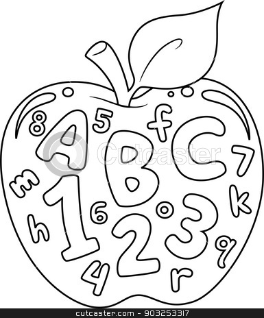 Coloring Pages Letters And Numbers | Murderthestout