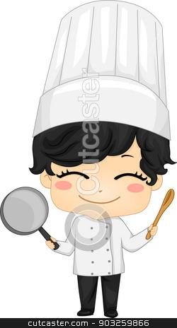 Boy Chef Clipart