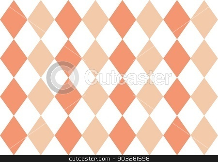 Coral Argyle Background stock photo,  by Double 2 Designs
