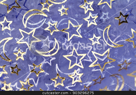 Decorative material stock photo, Photo of a beautiful christmas decorative material by Nneirda