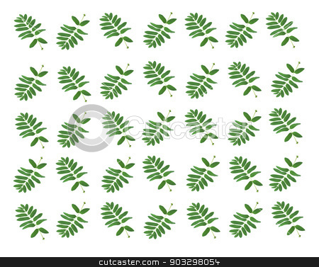 the background of the leaves stock photo, the basis for the background of green leaves from the tree by NataliaL