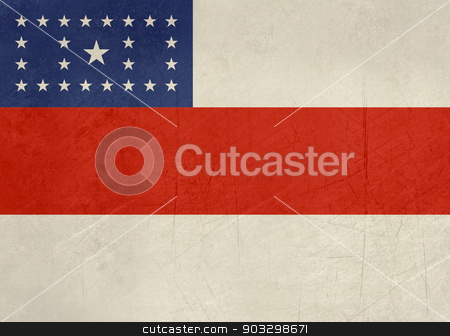 Grunge state flag of Amazonas in Brazil stock photo, Grunge state flag of Amazonas in Brazil. by Martin Crowdy