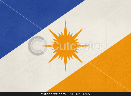 Grunge state flag of Tocantinas in Brazil stock photo, Grunge state flag of Tocantinas in Brazil. by Martin Crowdy