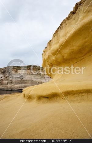 Cliffs at Xlendi, Gozo, Malta stock photo, Cliffs at the coast of Malta by dinozzaver