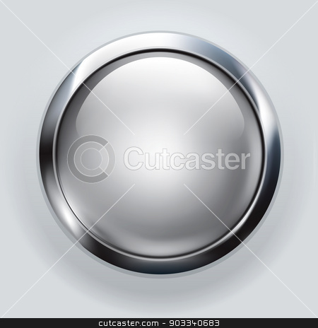 silver button background  stock photo, silver button background  by kaisorn