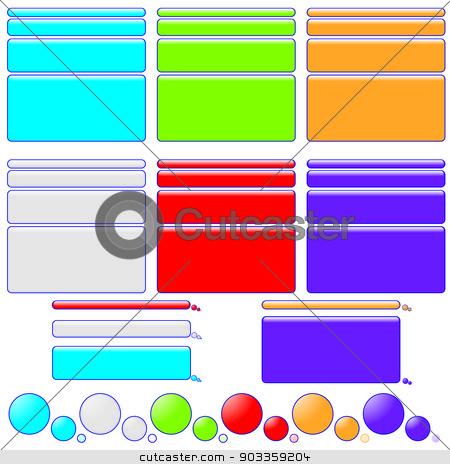 Illustration of Speech Bubbles stock photo, An Illustration of Speech Bubbles by Paul Stringer