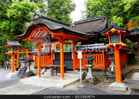 japan temple stock photo, templ by Keng po Leung