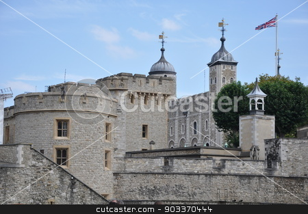 Tower of London in London stock photo, Tower of London in London, England by Ritu Jethani