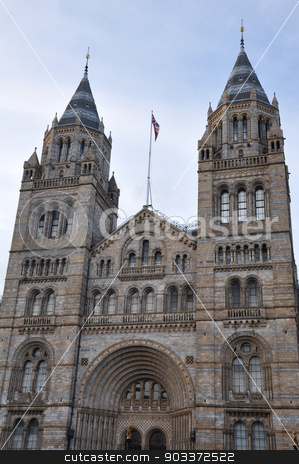 Natural History Museum in London stock photo, Natural History Museum in London, England by Ritu Jethani