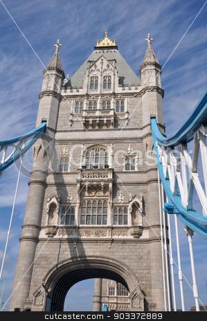 Tower Bridge in London stock photo, Tower Bridge in London, England by Ritu Jethani