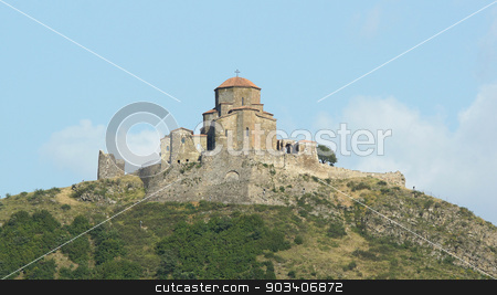 Dshwari Church, Mzcheta, Georgia stock photo, Dshwari Church, Mzcheta, Georgia, Europe by Alexander Ludwig