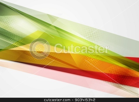 Colorful geometry vector background stock vector clipart, Colorful geometry vector abstract background by saicle