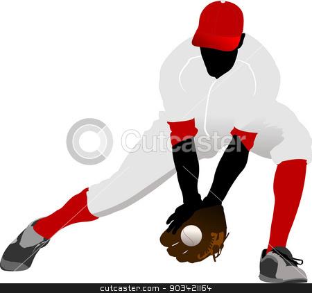 Baseball Player Vector  Download 718 Vectors Page 1