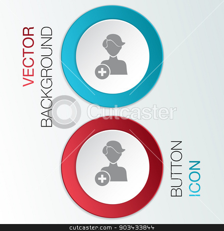 add friend stock vector clipart, add friend icon by LittleCuckoo