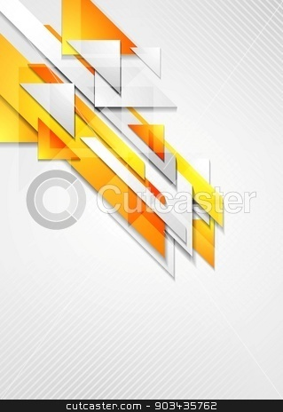 Bright hi-tech geometry background stock vector clipart, Bright hi-tech geometry background. Vector design by saicle