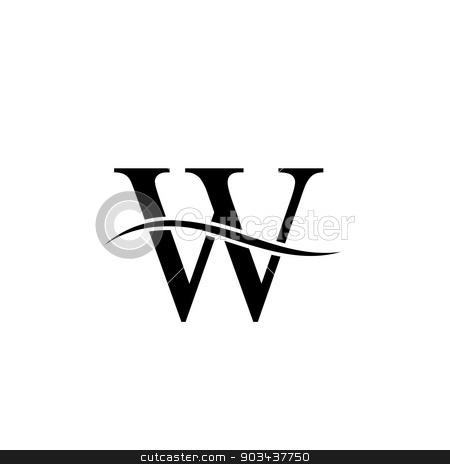 Alphabet Logo Design Letter W