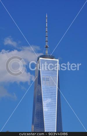 One World Trade Center in Manhattan, New York stock photo, One World Trade Center (Freedom Tower) in Manhattan, New York by Ritu Jethani