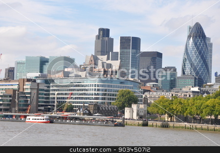 Thames River in London, England stock photo, Thames River in London, England by Ritu Jethani