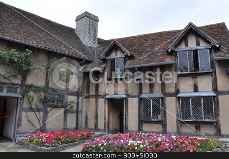 Shakespeare's Birthplace in Stratford-Upon-Avon , England stock photo, Shakespeare's Birthplace in Stratford-Upon-Avon , England by Ritu Jethani