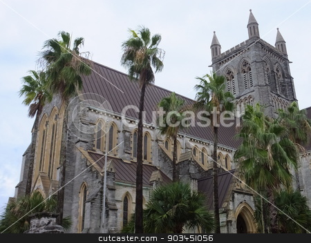 Cathedral of the Most Holy Trinity in Hamilton, Bermuda stock photo, Cathedral of the Most Holy Trinity in Hamilton, Bermuda by Ritu Jethani