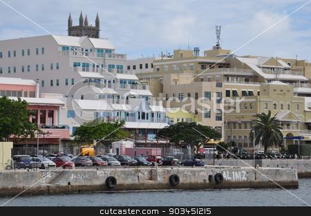Downtown Hamilton in Bermuda stock photo, Downtown Hamilton in Bermuda by Ritu Jethani