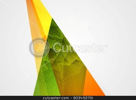 Abstract background stock vector clipart, Abstract background. Vector tech design by saicle