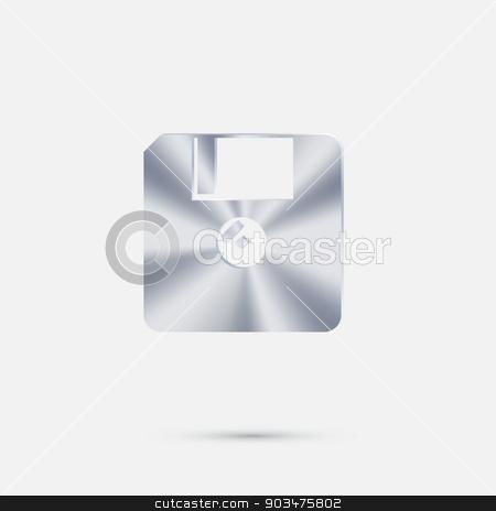 floppy, diskette. stock vector clipart, floppy, diskette. by LittleCuckoo