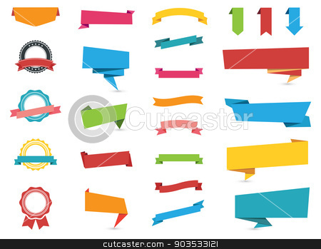 Web Stickers, Tags, Banners and Labels stock vector clipart, Flat design of Web Stickers, Tags, Banners and Labels collection./ Web Stickers, Tags, Banners and Labels by Bagiuiani Kostas