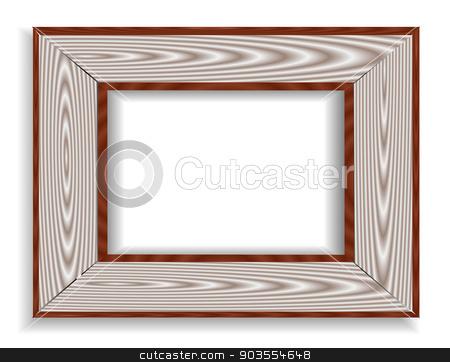 Vintage isolated blank frame stock photo, Vintage isolated blank frame. For your commercial and editorial use by Serhii