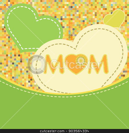 Happy Mother's Day. EPS 8 stock vector clipart, Happy Mother's Day. EPS 8 vector file included by Vladimir Petrov