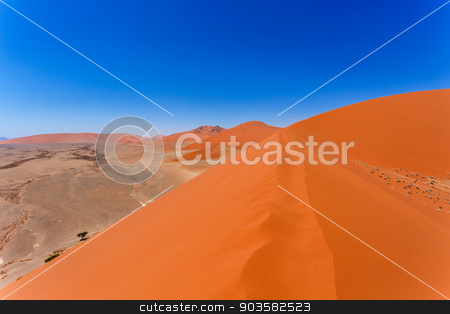 Dune 45 in sossusvlei Namibia, view from the top of a Dune 45 in sossusvlei Namibia, view from the top of a dune stock photo, Dune 45 in sossusvlei Namibia, view from the top of a dune, best place in namibia by Artush