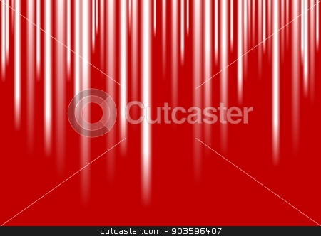 White stripes on red background stock vector clipart, White stripes on red background. Vector design by saicle