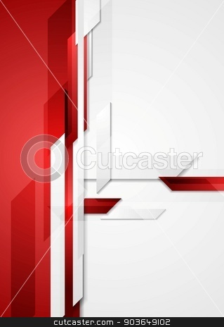 Red tech corporate background stock vector clipart, Red tech corporate background. Vector design by saicle