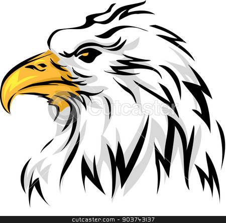 Eagle Mascot stock photo, Mascot Illustration Featuring an Eagle by BNP