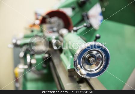 Close up of heavy machinery stock photo, Close up of heavy machinery at the university by Wavebreak Media