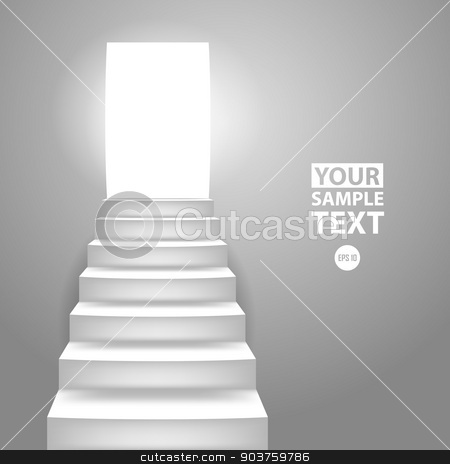 Staircase stock vector clipart, Staircase by Artem