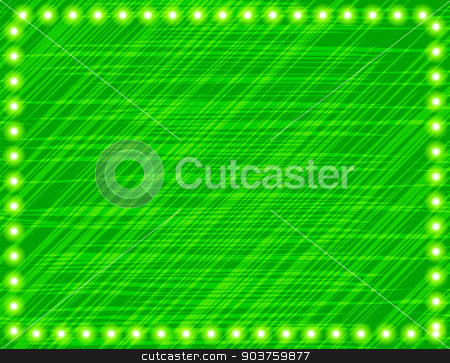abstract green illustration. Colored glowing background stock vector clipart, abstract green illustration. Colored glowing background. Vector by Serhii