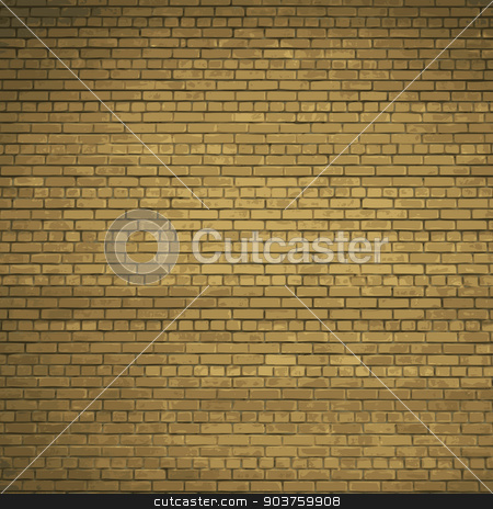 Background red brick wall. Vector. Eps10 stock vector clipart, Background red brick wall. Vector illustration. Eps10 by Serhii