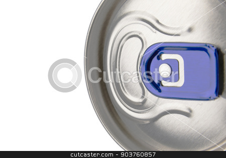 Beverage can stock photo, Not open beverage aluminum can by marekusz
