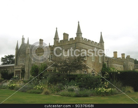 Abbey, England stock photo, outdoor view by Saphire Ovadia